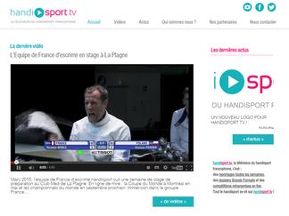Bienvenue sur le nouveau Handisport.TV !