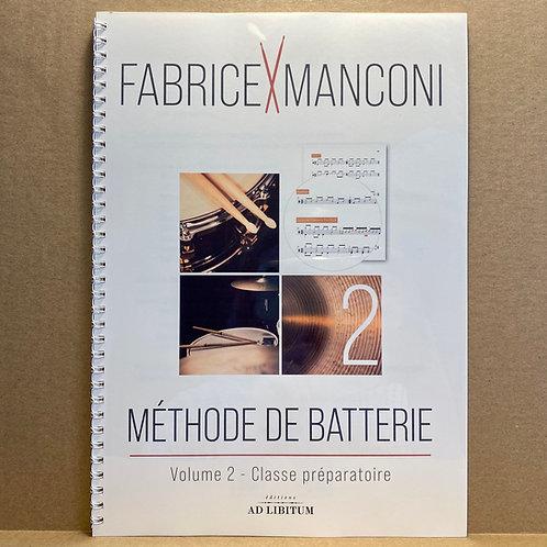 Méthode de batterie // vol.2 - Classe préparatoire