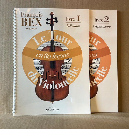 Le Tour du violoncelle en 80 leçons - Livre 1 & 2