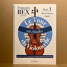 Le Tour du violoncelle en études - Livre 1 : Mes premières études