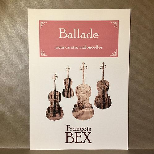 Ballade pour 4 violoncelles