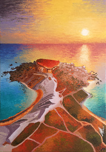 Apple's Eye (Ghajn Tuffieha) Rock - Malta