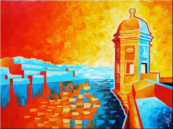 Watchtower (Gardiola) Fort St. Elmo - Malta