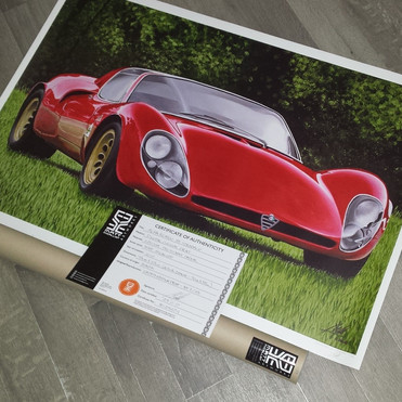 93cm X 63cm - 33 Limited Edition Digital Prints on 225gsm Photo Matte Paper.