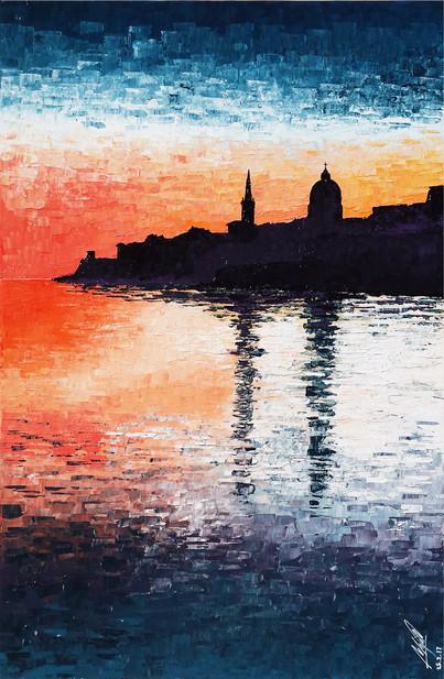 Valletta at dawn