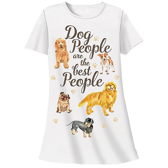 Dog People Are The Best People Sleep Shirt