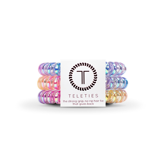 Eat Glitter for Breakfast -Small Hair Ties