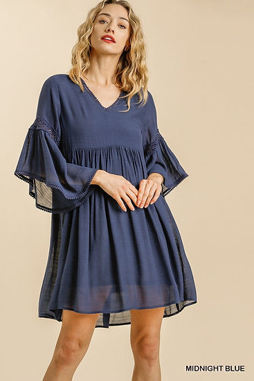 It's The New You Midnight Blue Dress
