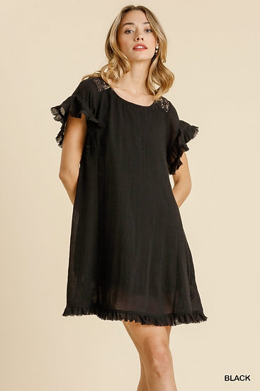 From The Heart Black Dress