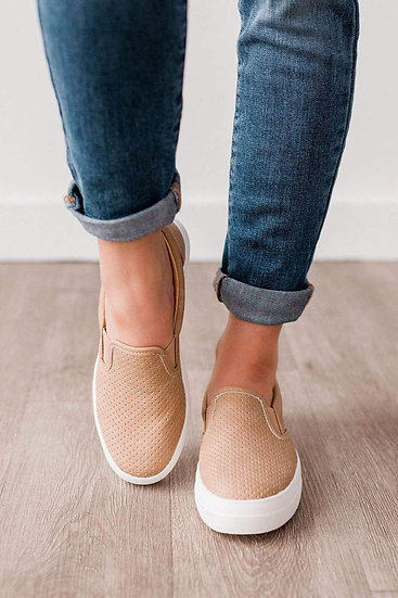 Croft Sneakers Camel