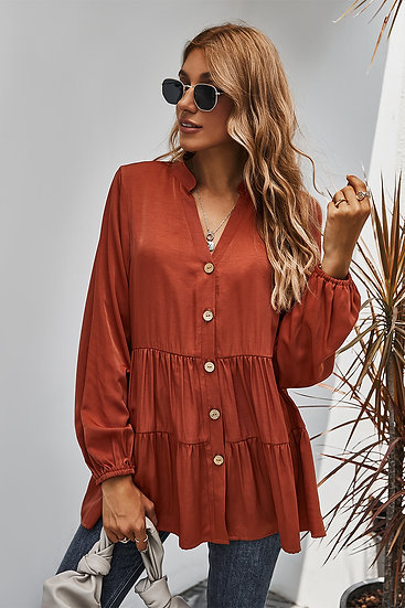 We All Know Rust Blouse