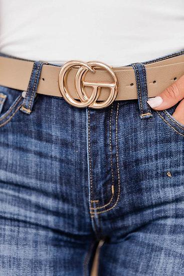 Everyday Belt - Taupe