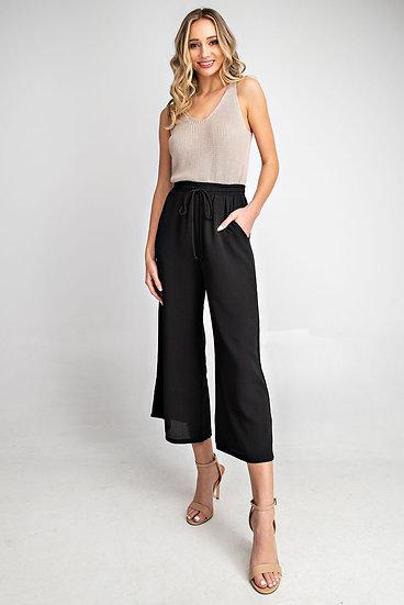 Save Some Time Black Pants
