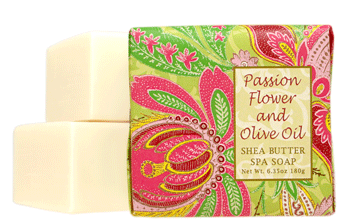 Passion Flower and Olive Oil Small Soap - 1.9 oz
