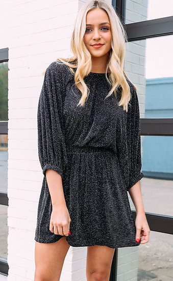 Genevieve Black Dress (Show Me Your Mumu)