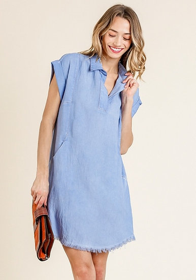 Know Who You Are Denim Dress