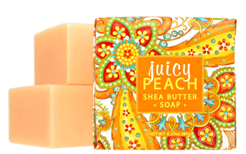 Juicy Peach Large Soap - 6.35 oz