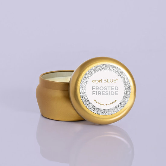 Frosted Fireside Glam Mini Tin, 3 oz
