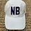 Thumbnail: NB - New Braunfels - White Cotton Hat