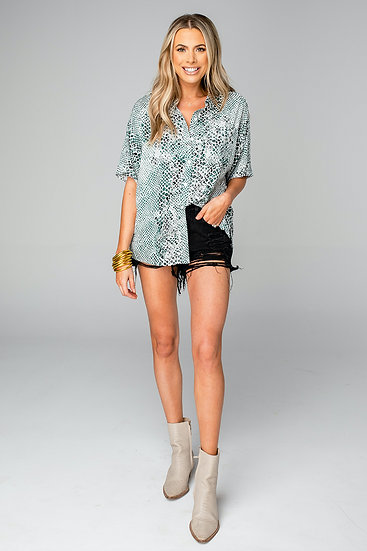 Perry Stone Button Up Top (Buddy Love)