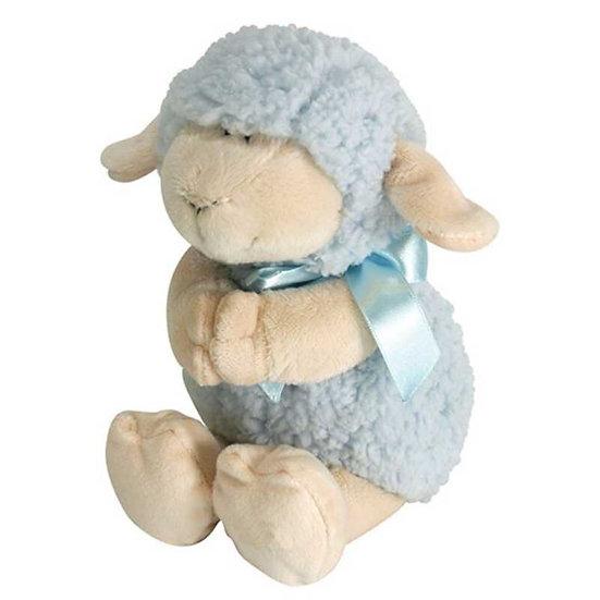 Musical Praying Lamb - Blue