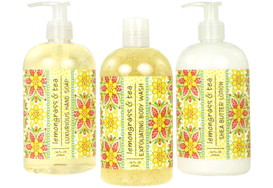 Lemongrass & Tea Hand Soap / Lotion