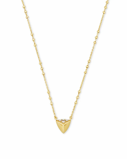 Perry Pendant Necklace In Gold