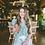Thumbnail: Victoria Ruffled Sleeve Top - Sea Lion