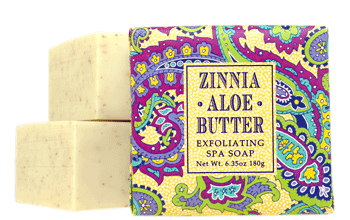 Zinnia Aloe Butter Small Soap - 1.9 oz
