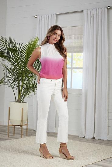 Lottie Flare Jeans - White