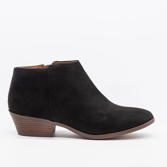 Black Mini Bootie