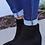 Thumbnail: Black Wedge Bootie