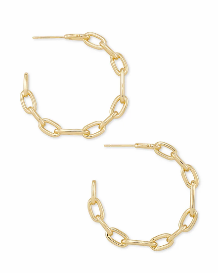 Ryder Hoop Earrings In Gold