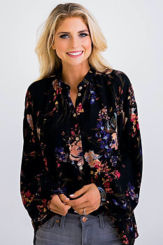 What Could Be Floral Blouse