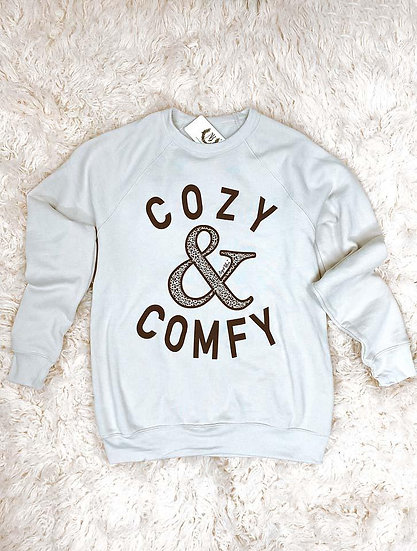 Cozy & Comfy Grey Sweatshirt
