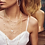 Thumbnail: Scarlet Gold Choker Necklace In White Pearl
