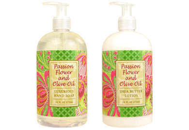 Passion Flower and Olive Oil Hand Soap / Lotion