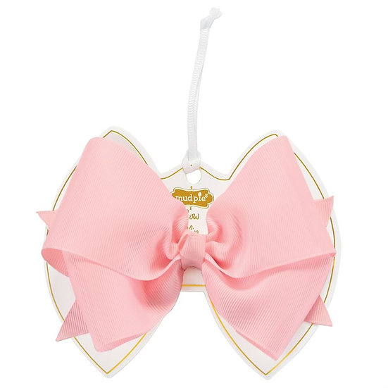 Light Pink Bow Clip