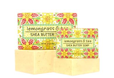 Lemongrass & Tea Small Soap - 2 oz