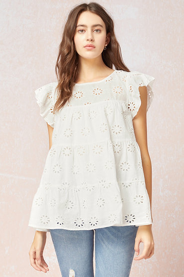 Sweet Dreams Blouse - Off White