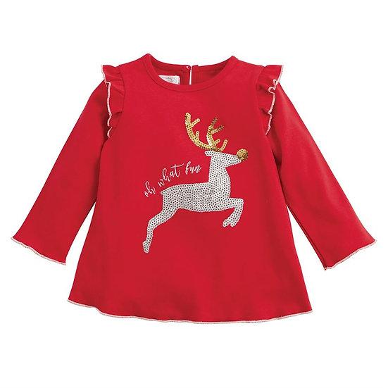 Reindeer Dazzle Tunic (Mudpie)