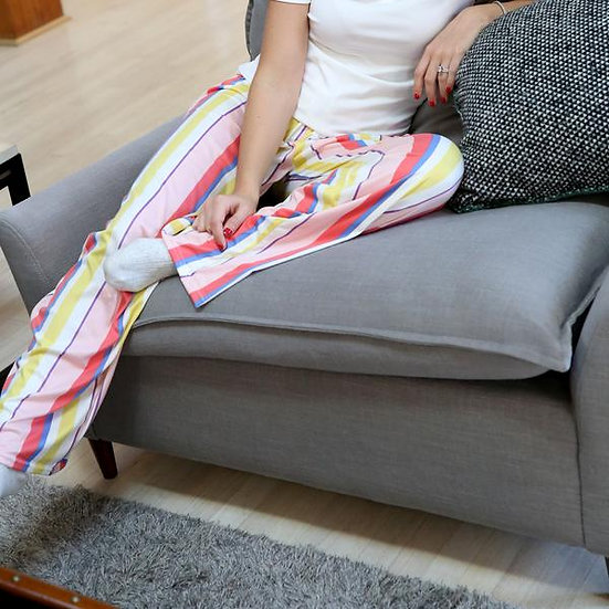 Sweet Escape Lounge Pants - Strawberry Mimosa