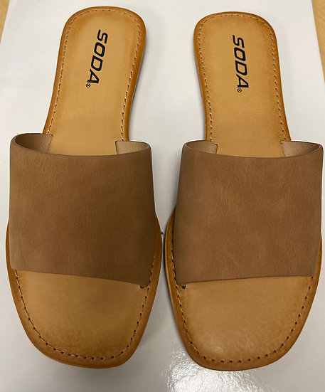 Look Sharp Coffee Sandal