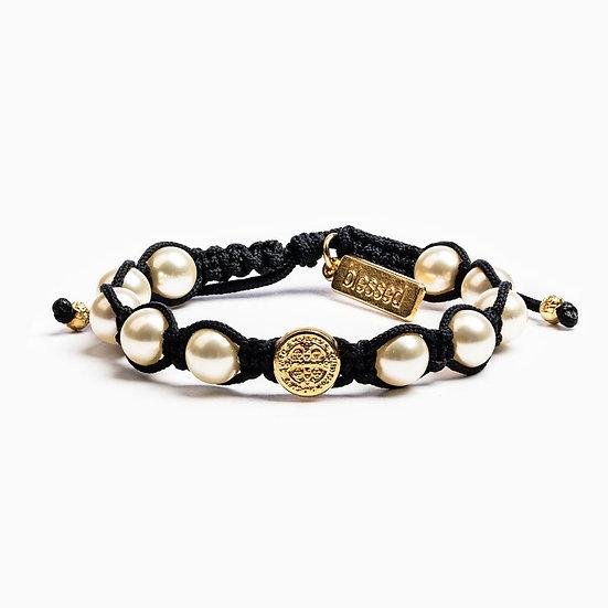 Divine Blessings Bracelet Gold Metal