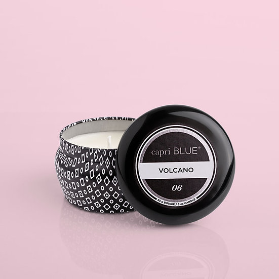 Volcano Black Mini Tin, 3 oz
