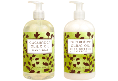 Cucumber Olive Oil Hand Soap / Lotion
