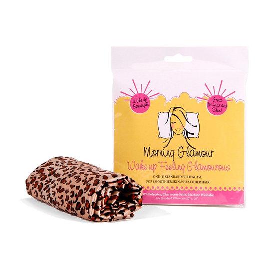 Leopard Satin Pillowcase - Standard