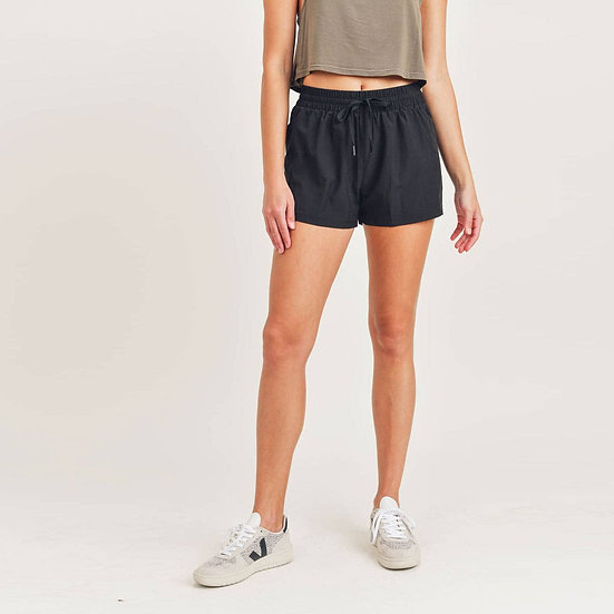Off To A Good Start Black Shorts