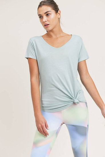 It's All You Surf Spray Short Sleeve Top