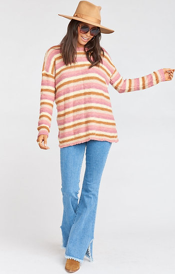 Bertie Sweater - Reagan Stripe Knit (Show Me Your Mumu)